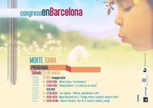 Congreso Barcelona 22 y 23 de marzo MENTE SANA sábado