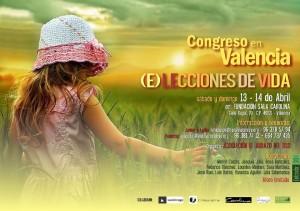 Cartel Congreso Valencia, 13 y 14 de abril