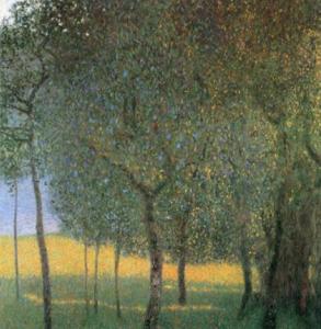 Gustav Klimt, Árboles frutales, 1901.